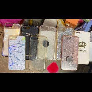 iPhone 6/6s plus, 7 plus and 8 plus phone cases